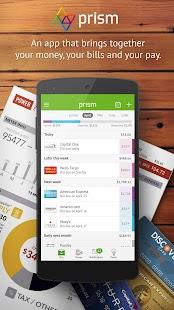Prism Bills & Personal Finance Screenshot 1