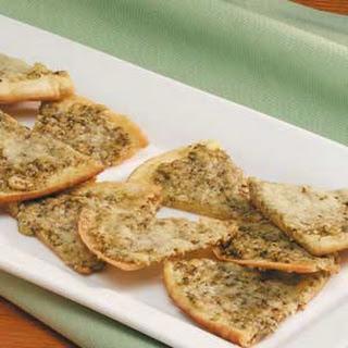 Pesto Pita Appetizers.