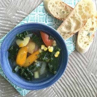 Farmers' Market Vegetable Soup