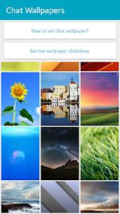 Wallpapers for Chat HD- screenshot thumbnail
