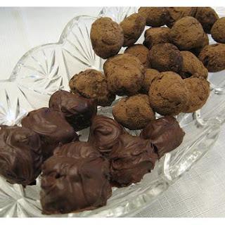 Chocolate Chambord Truffles.