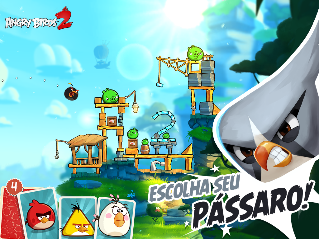Angry Birds 2 já disponível gratuitamente para Android 1