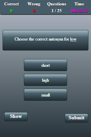 English Test- screenshot