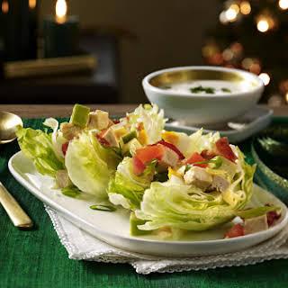 Mini Chicken BLT Wedge Salads.