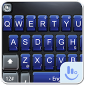 Navy Tinge Keyboard Theme