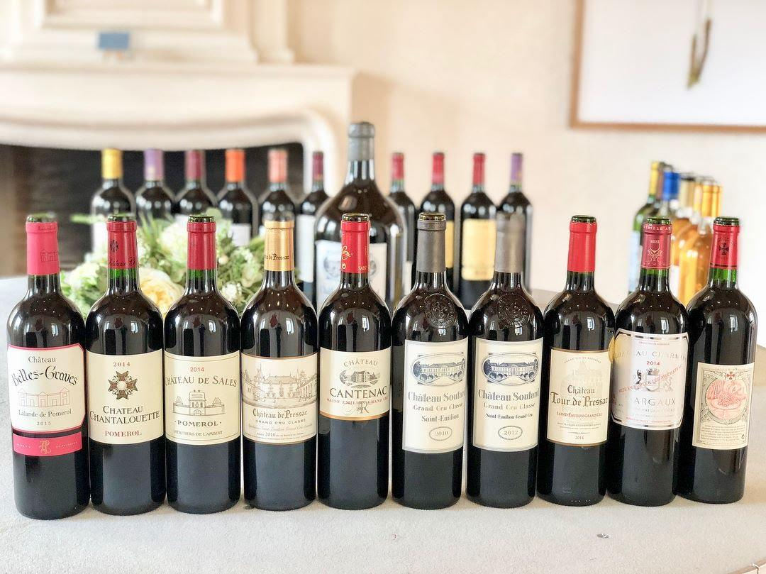 Bordeaux Red Wine Selection
