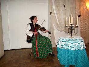 Photo: Wiersze czytano przy akompaniamencie Kasi Kluski