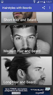 Hairstyles with Beards - náhled
