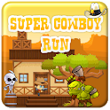 Super Cowboy Run-Best Funny Game icon