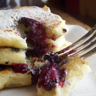 My Favorite Blueberry Buttermilk Pancake Recipe (so far...)