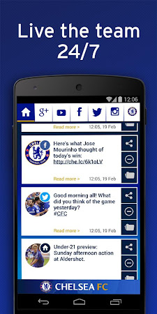 Chelsea FC Official Keyboard 3.2.47.73 screenshot 632532