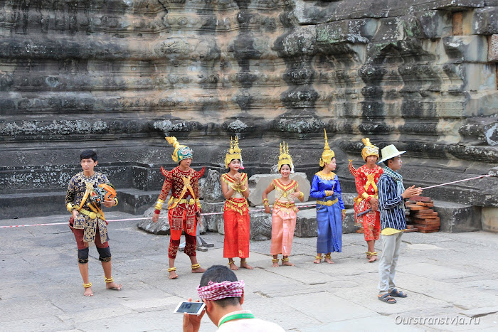 Храмовый комплекс Ангкор Ват, Камбоджа