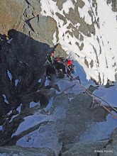 Photo: dolazimo do skoka, detalja, sa svake strane preko 800m visine