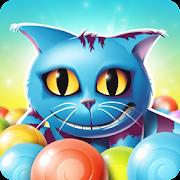 Bubble pop - Alice in Wonderland