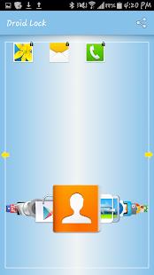 Droid Lock Screenshot
