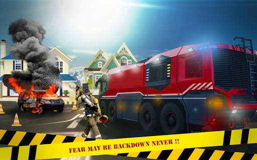 Télécharger gratuit Firefighter Emergency Rescue Hero 911 APK MOD 2