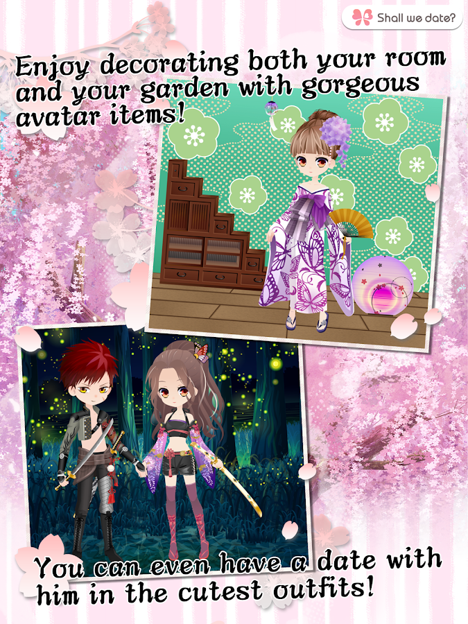 Destiny Ninja Shall we date otome games love story- screenshot