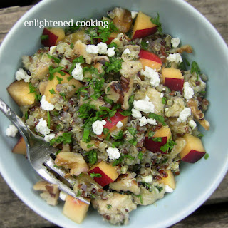 Nectarine, Chicken and Quinoa Salad