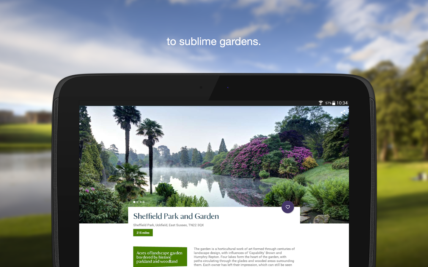 National Trust - screenshot