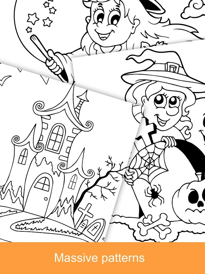 Halloween Coloring Books 2018 Screenshot