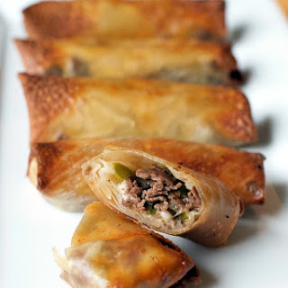 Philly Cheesesteak Egg Rolls Recipe