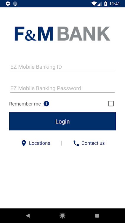 F&M Bank - EZ Banking – (Android Apps) — AppAgg