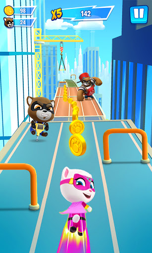 Talking Tom Hero Dash - Run Game screenshot 1
