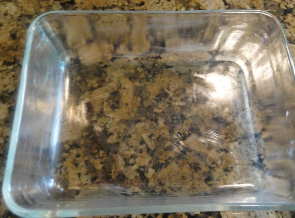Choose a 1 1/2 quart glass baking dish. (Not metal) Butter your baking dish...
