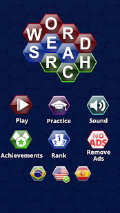 Word Search Puzzles Hexagon- screenshot thumbnail