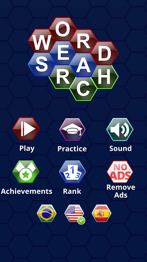 Word Search Puzzles Hexagon- screenshot
