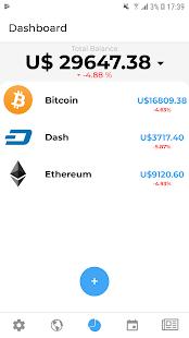 myAltFolio - Cryptocurrency Portfolio Tracker - náhled