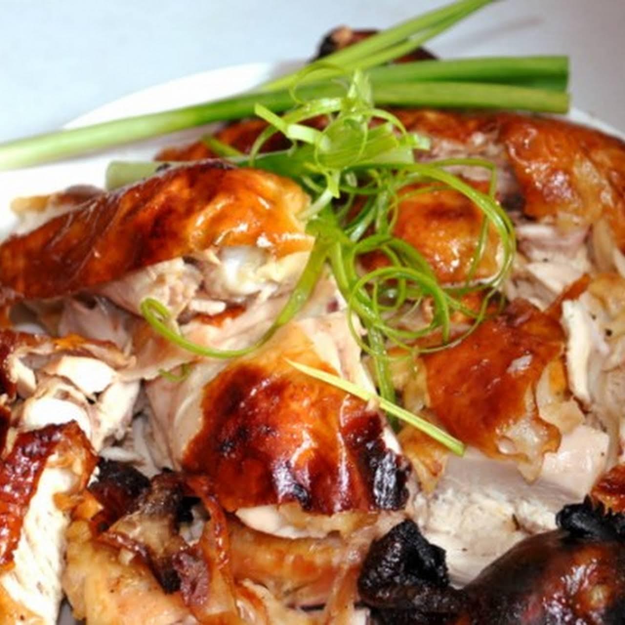 Roast Chicken Recipe - Chinese Style