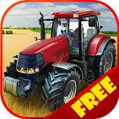Harvest Day: Farm Tractor 3D