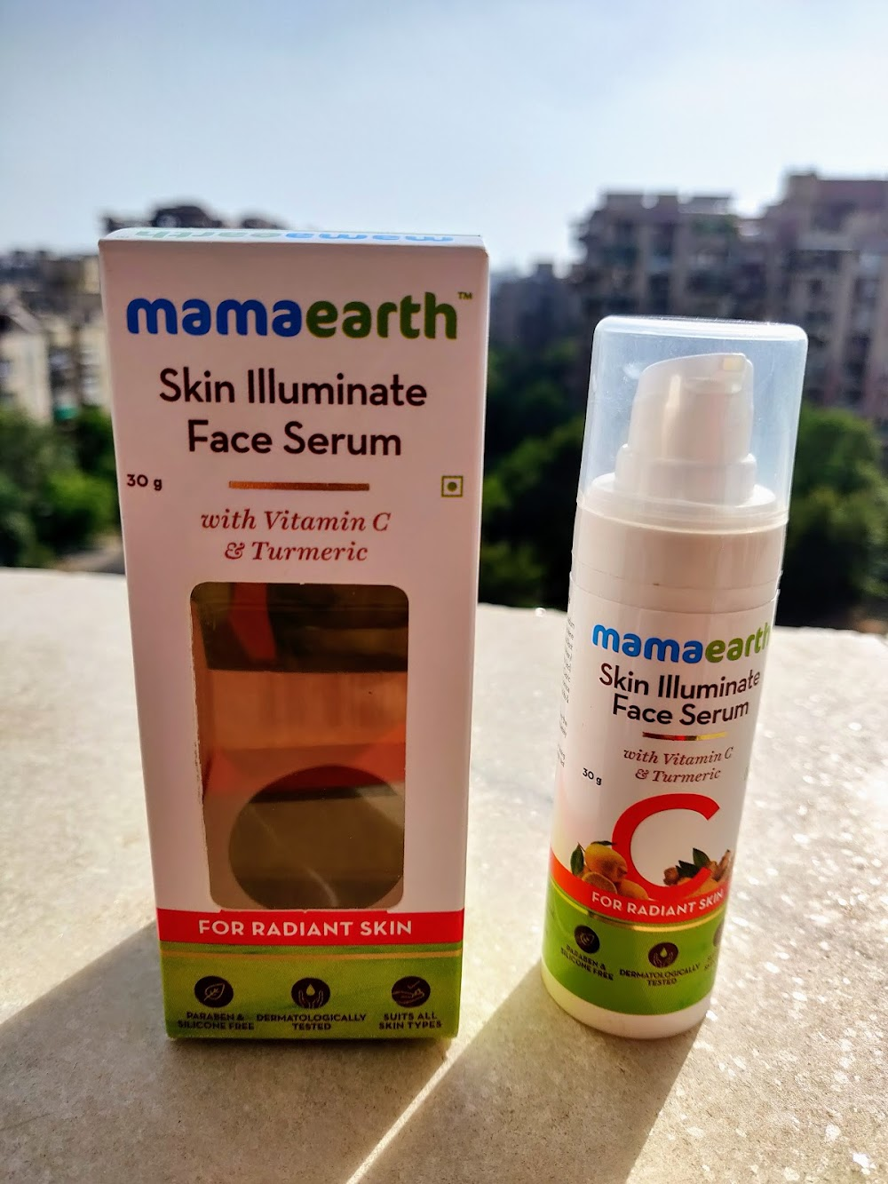 mamaearth skin illuminate face serum