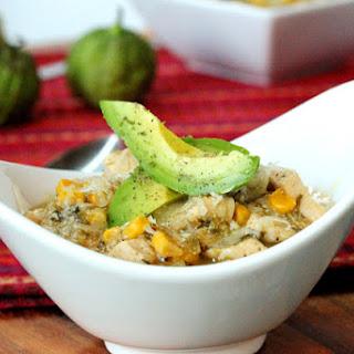 One-Skillet Salsa Verde Chicken with Corn