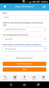 DialMyCalls Voice Broadcasting- screenshot thumbnail