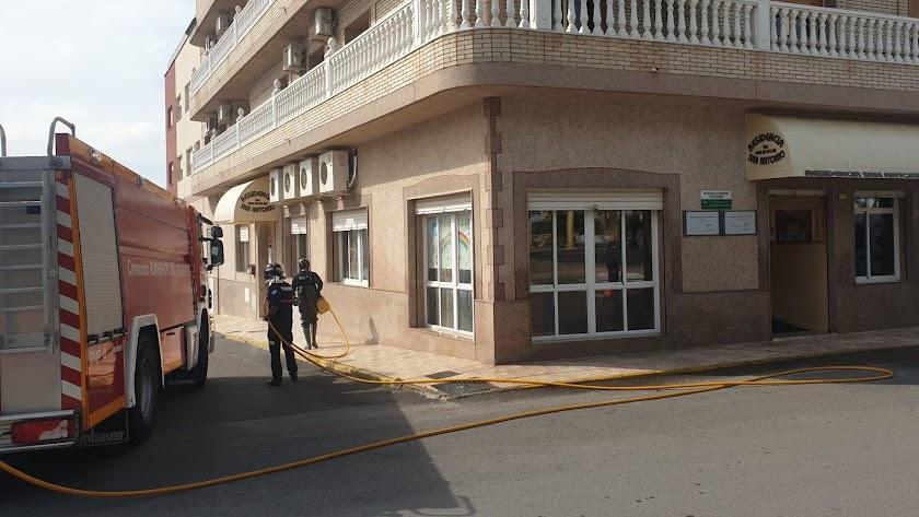 Imagen de archivo de la residencia San Antonio, en Vícar.