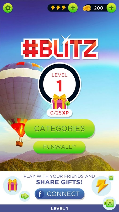 Hashtag Blitz: A FunWall Game- screenshot