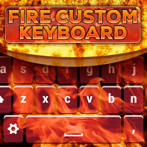 Fire Custom Keyboard Theme Icon