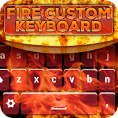 Fire Custom Keyboard Theme