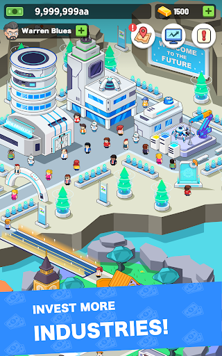 Idle investor tycoon- Build your city filehippodl screenshot 7