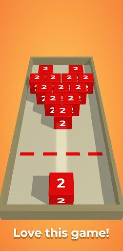 Chain Cube: 2048 3D merge game screenshots 3