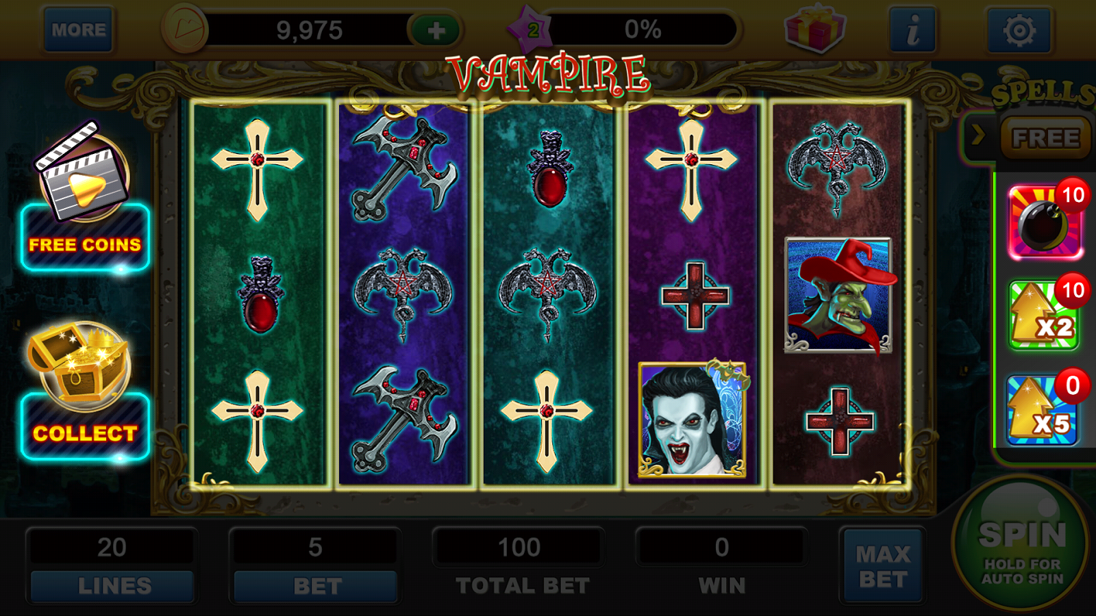 Vampire Fortune Slot Machine - Play Online Slots for Free