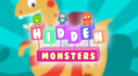 Hidden objects for children - Cute Monsters - náhled