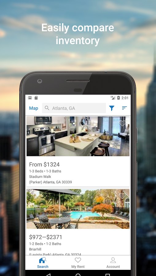 Rent.com Apartment Homes- screenshot