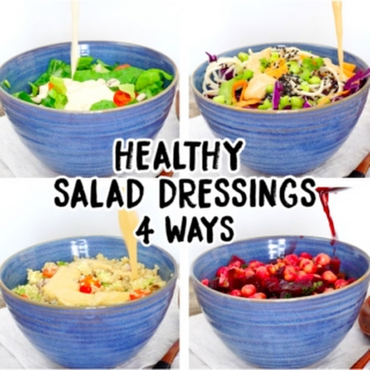 4 Healthy Salad Dressings Recipe