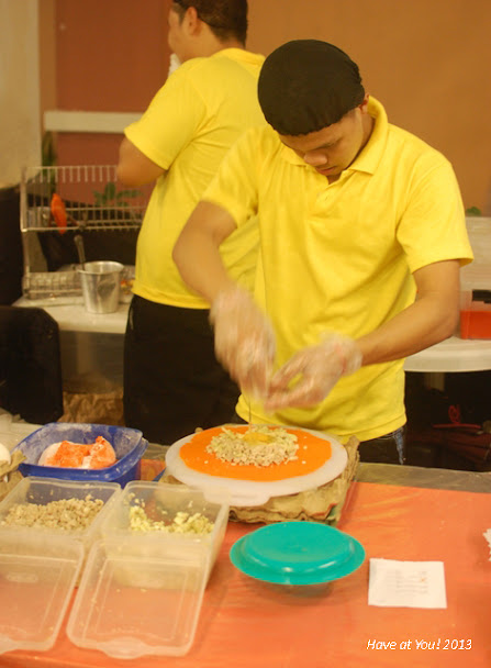 Ilocos empanada being made
