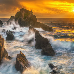 Sunset of the Raging Waves.jpg