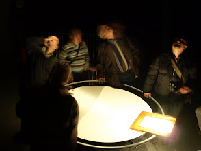 Photo: Mülheim camera obscura - waiting for the sun to sink low enough on the horizon to view