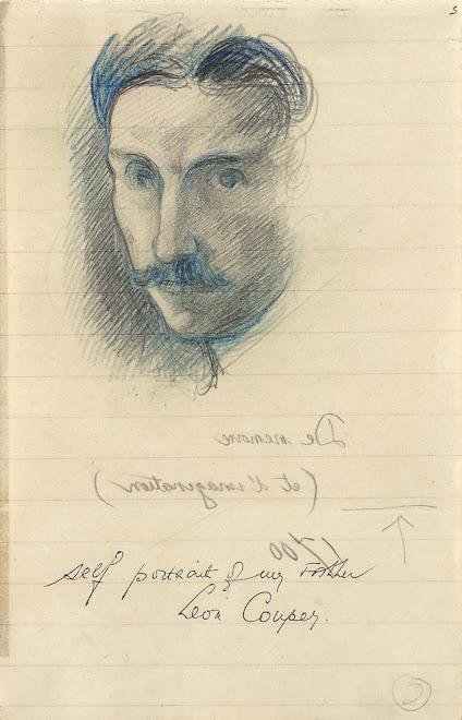 <p> <strong>L&eacute;on Coupey<br /> Self Portrait</strong><br /> Graphite &amp; crayon on paper<br /> 9&quot; x 7&quot;<br /> c 1921<br /> Collection Pierre Coupey, Vancouver&nbsp;</p>